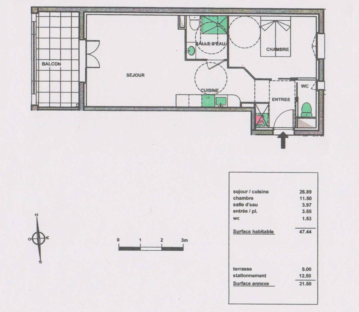 Appartement - Palombaggia T2